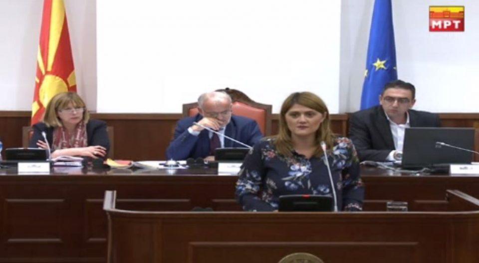 Стаменковска: Овој договор е неважечки, бидејќи не е испочитувана ниту една правна процедура, ниту еден закон во Република Македонија, не е испочитуван ниту Уставот
