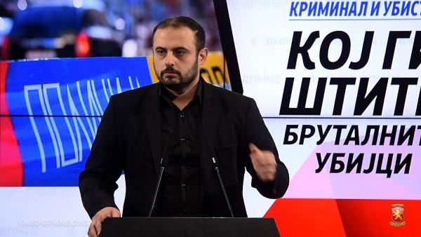 Ѓорѓиевски: Кој ги штити бруталните убијци кои со калашникови ликвидираа две лица среде Скопје пред точно еден месец?