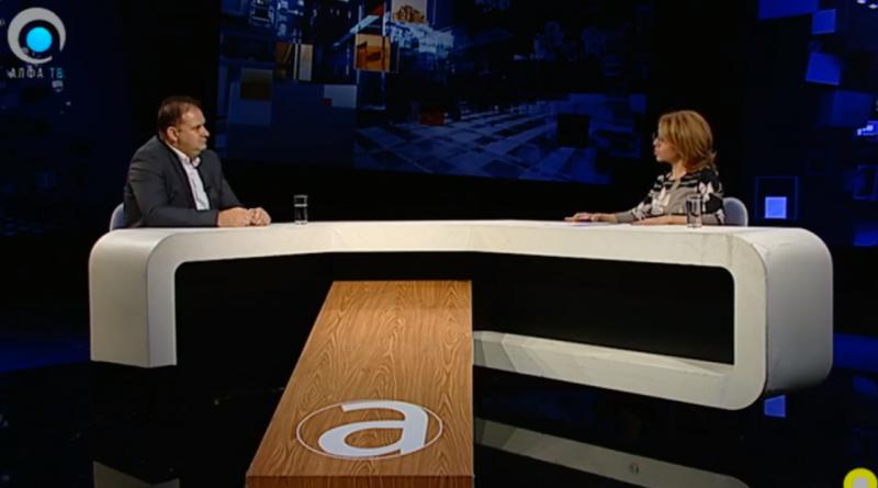 Панчевски за Алфа: Во Македонија нема пресумпција на невиност