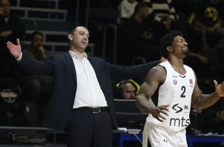 Третнерот на кошаркарскиот клуб Партизан си поднесе оставка