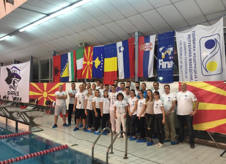 ПК Бета беше домаќин на интернационален пливачки митинг