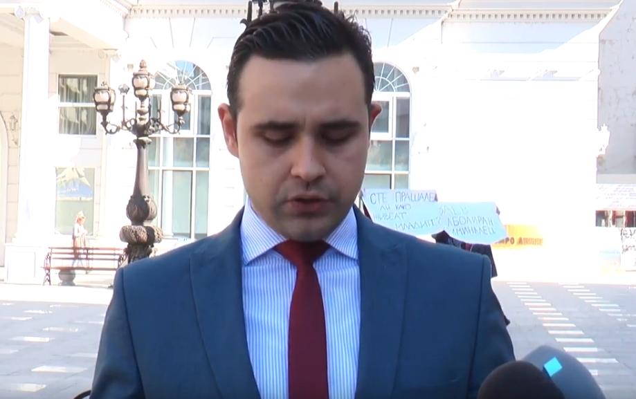"""Реакција на Костадинов на објавениот текст: """"Лидер: Костадинов се подновил со стан во Џевахир-го крие во анкетниот лист?!"""""""
