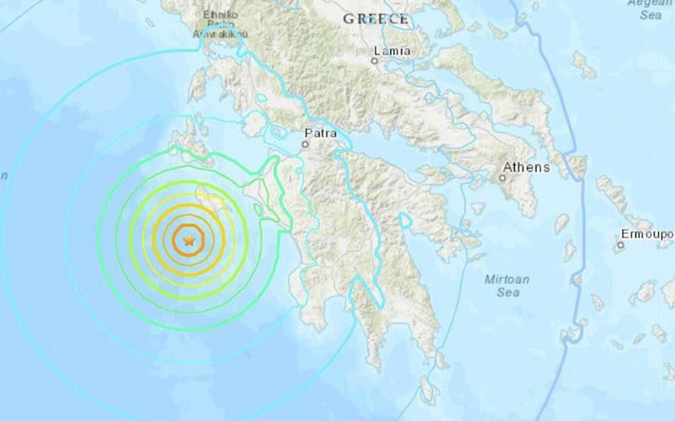 Тлото не се мирува: Нов земјотрес во Јонското Море во близина на Закинтос
