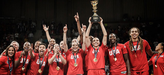 Трета светска шампионска титула во низа за кошаркарките на САД