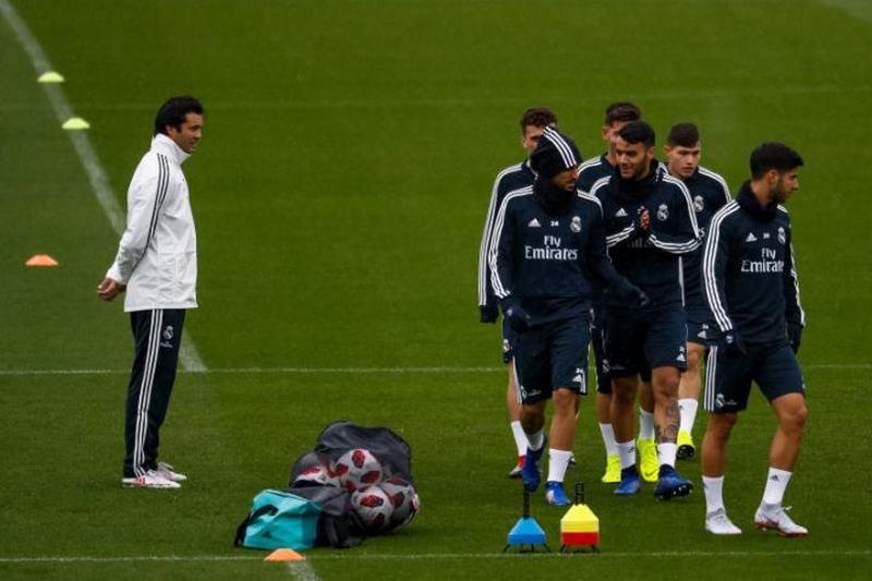 Солари го одржа првиот тренинг со Реал Мадрид