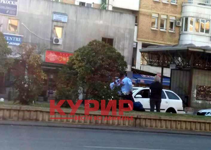 Детали за сообраќајката кај Скопјанка: Возило на МВР удрило во пешакот