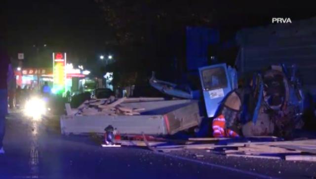 Нова тешка сообраќајка во Србија, загинаа четири лица