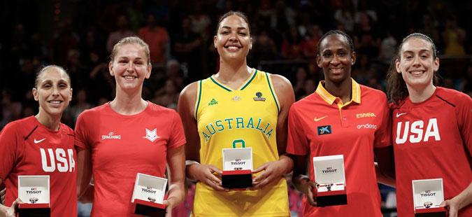 Американката Бриана Стјуарт е избрана за најкорисна кошаркарка на Светското првенство
