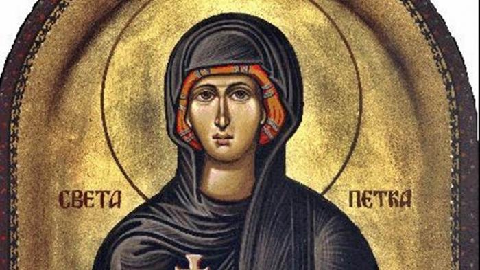 Ни доаѓа Светка Петка, заштитничка на жените- на овој ден се случуваат чуда и никако не треба да се прави ова