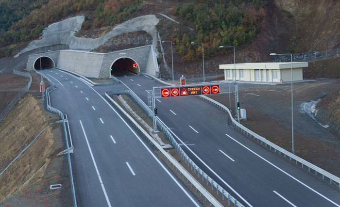 Изменет сообраќаен режим пред тунелите Демир Капија–Смоквица