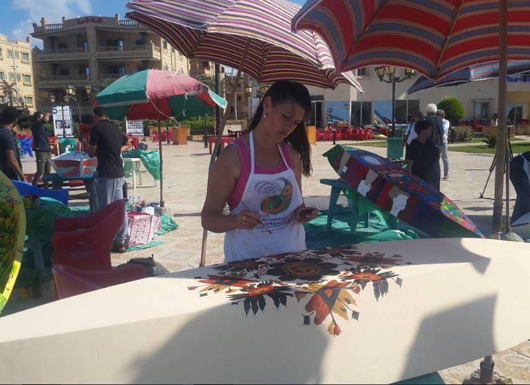 Уметницата Валентина Илијевска учествуваше на ликовна колонија во Египет