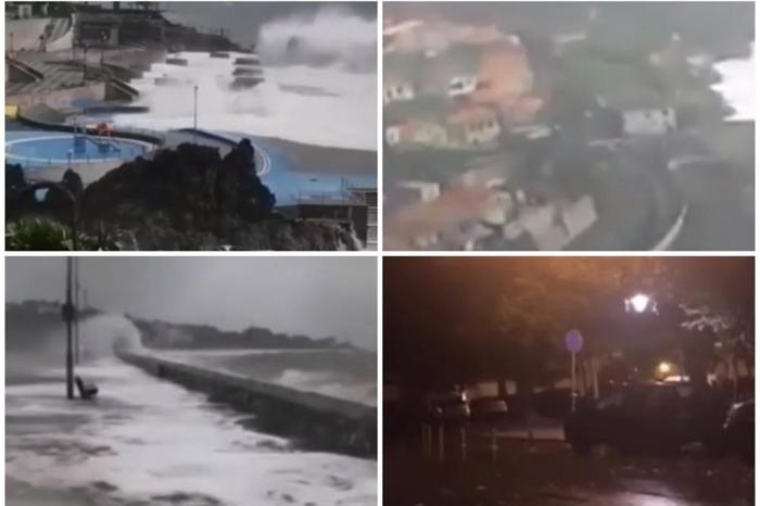 Ураган ја погоди Европа: Невремето беснееше, корнеше дрвја, стотина илјади луѓе без струја (ВИДЕО)