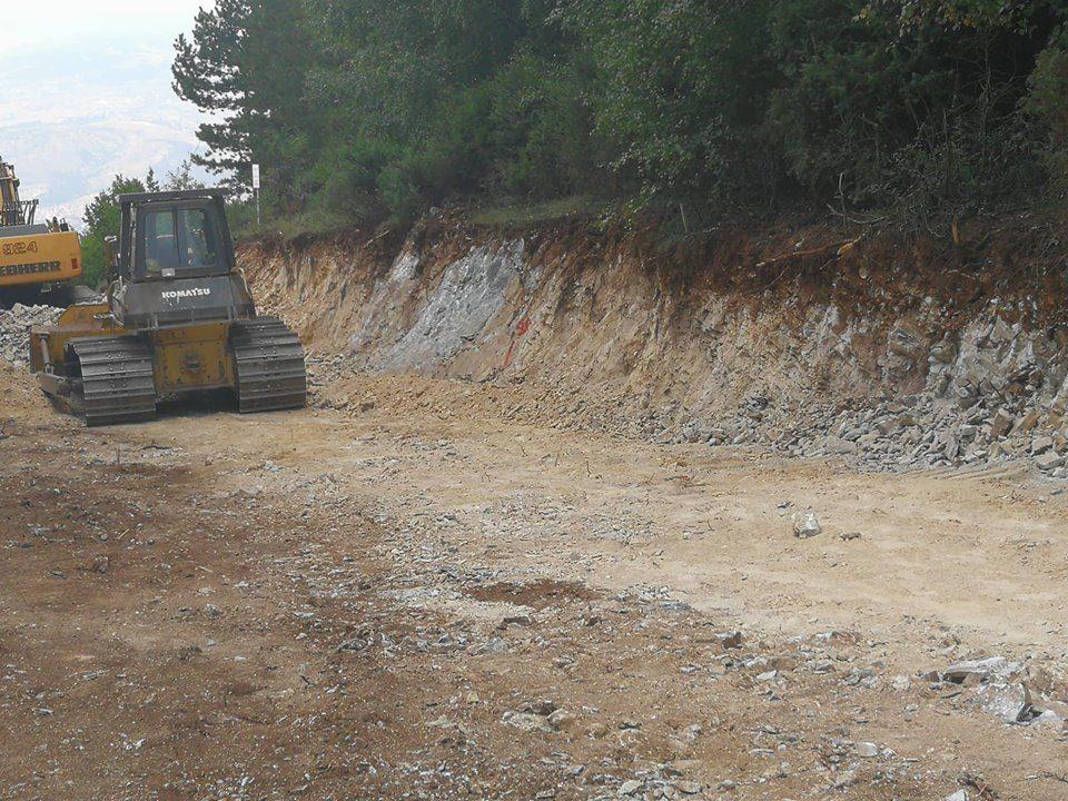 ВИДЕО: Копањето на Водно продолжи на државен празник
