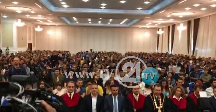 ВИДЕО: Нема аплауз за Заев од студентите на ФИНКИ