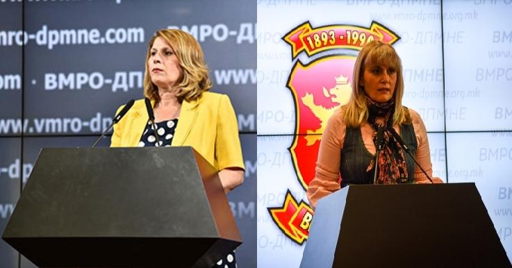 Кузмановска и Затуроска остануваат дел од пратеничката група и ќе ги бранат политиките на ВМРО-ДПМНЕ