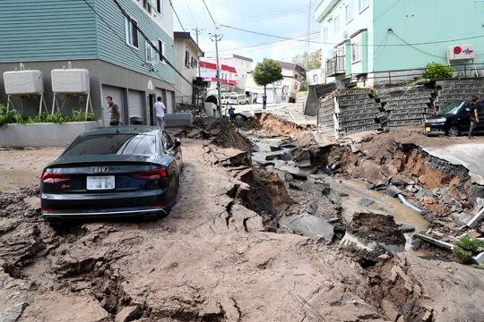 Јапонија: Силен земјотрес повторно го погоди Хокаидо