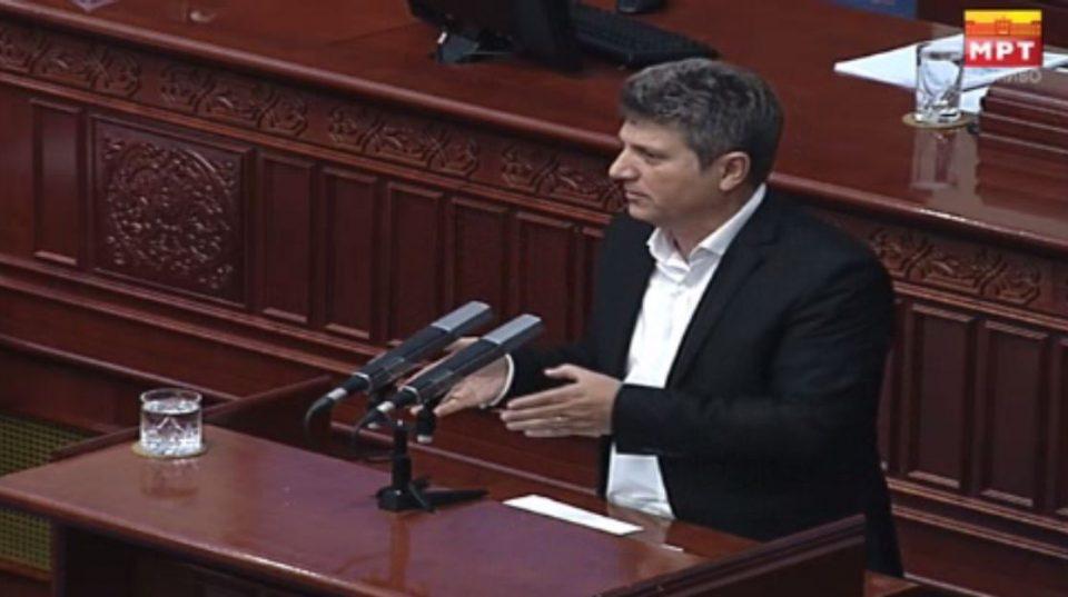 Илиоски: После промената на Уставот ние повеќе нема да сме Македонија