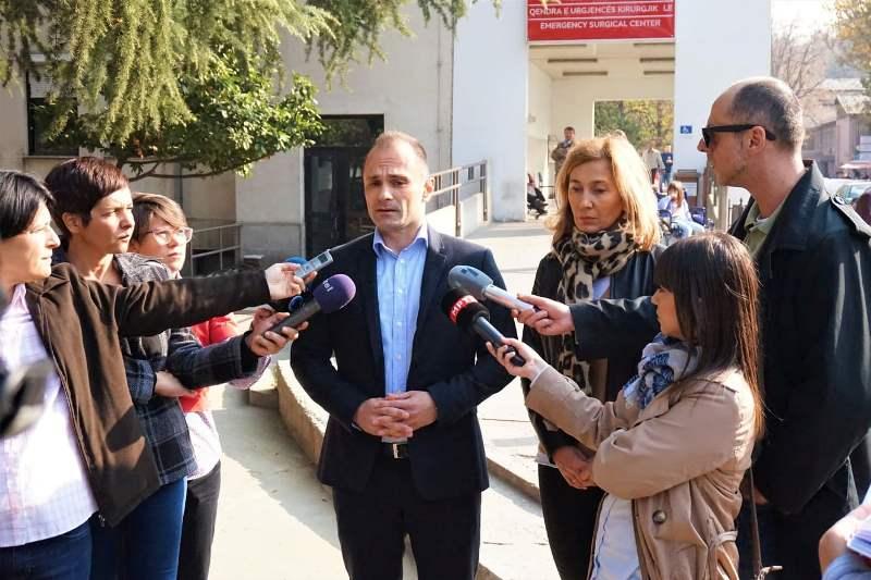 Медицинска сестра нападната од семејство на починат на КАРИЛ, Филипче го осуди инцидентот