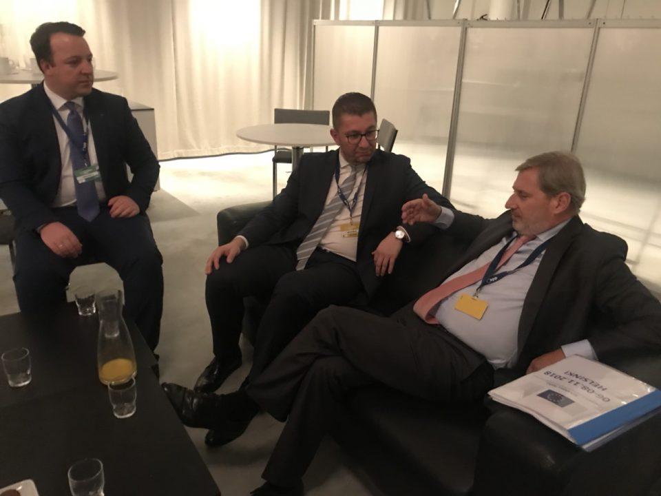 Мицкоски: ВМРО-ДПМНЕ останува противник на договорот од Преспа, како и промената на Уставот со цел промена на идентитетот на државата