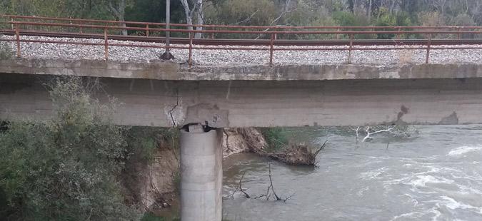 Поправен мостот кај Градско, од вечерва железнички сообраќај Велес-Гевгелија