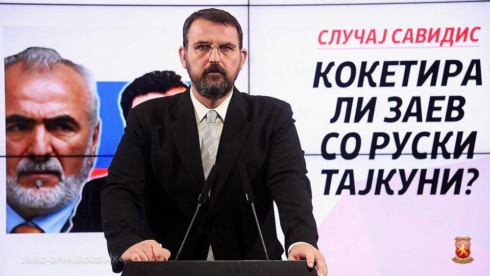 Стоилковски: Кокетира ли Заев со рускиот бизнисмен Савидис?
