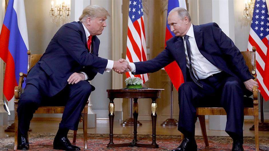 Заедничко соопштение на Трамп и Путин