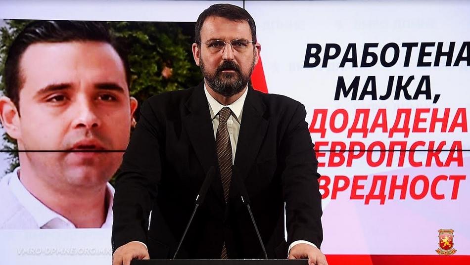 Стоилковски: Според СДСМ партиската книшка била и ќе биде главен критериум за тоа кој е најмладиот и најперспективниот кадар со средно образование