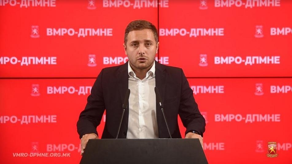 Арсовски: Долгот не престанува да се зголемува- СДСМ ја задолжи државата за скоро 400 милиони евра за 9 месеци