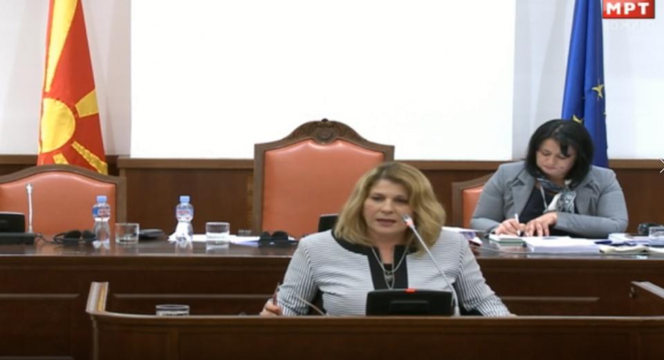 Кузмановска: Буџетот не е економски оправдан и е напумпан
