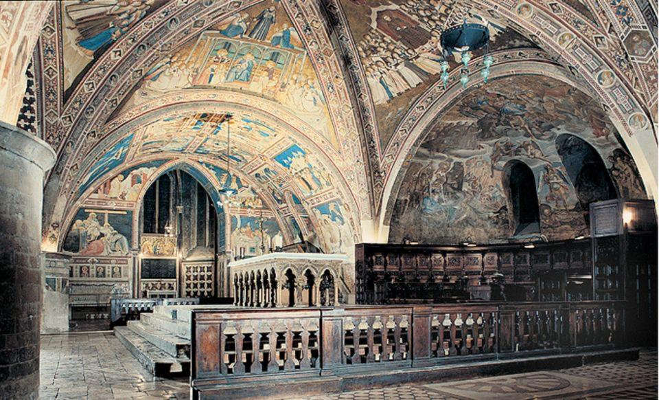 Прото-ренесансен сликар го скрил ѓаволот во фреска во базилика, и тоа седум века останало тајна