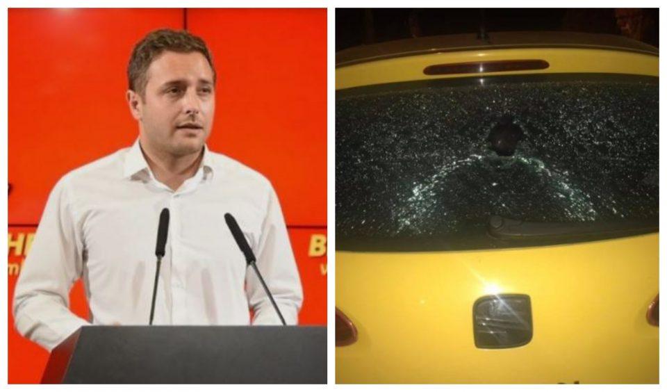 Арсовски: Граѓаните имаат право да ја знаат вистината за криминалот на СДСМ, со кршењето на автомобилот нема да ме замолчат