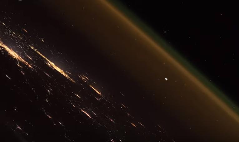 Астронаут од свемирот сними неверојатно видео од лансирање на ракета од земјата
