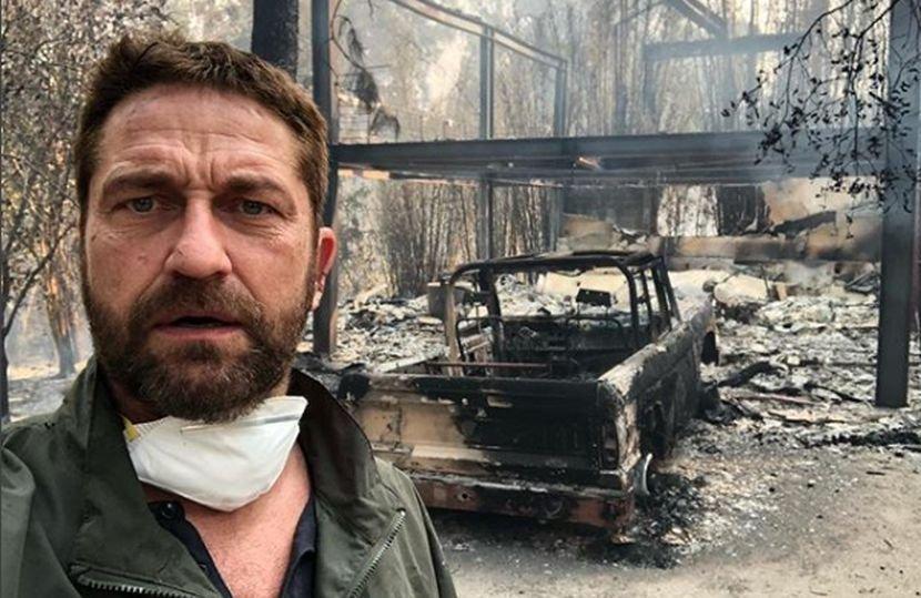 Тежок крај на годината за актерот: Откако му изгоре вилата вредна 4 милиони долари, Батлер заврши во болница