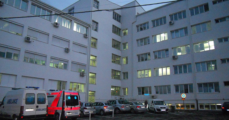Маж повреден во фабрика, итно пренесен во велешка болница