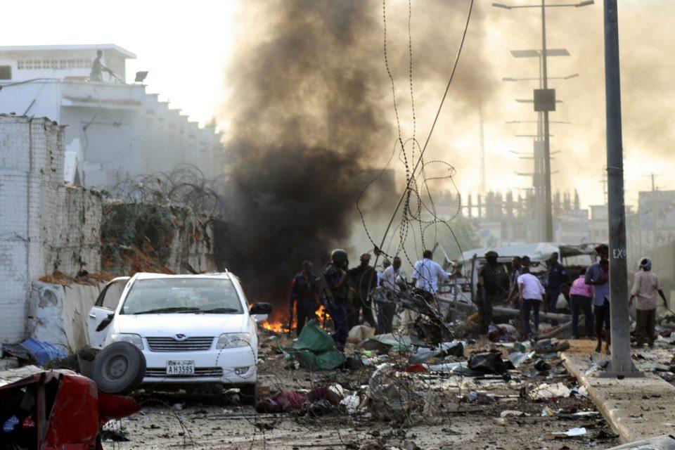 Осуммина загинати во самоубиствен бомбашки напад