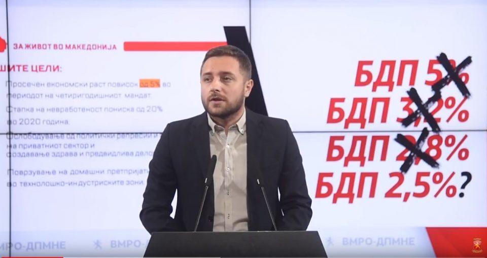 Арсовски: 2018-та е црна година за македонската економија