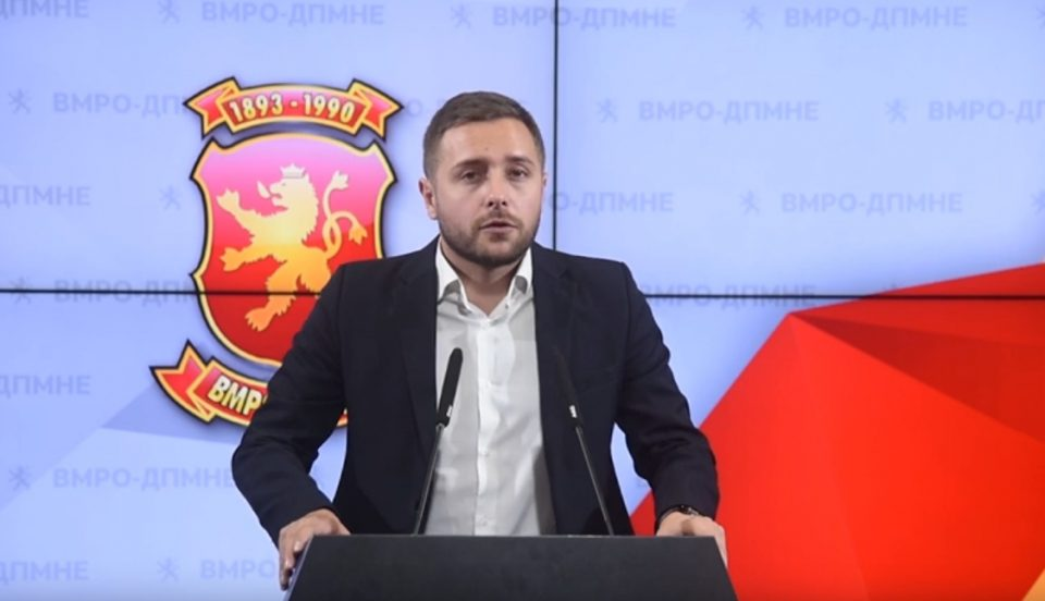 Арсовски: Буџетот кој криминогената власт го предлага за 2019-та година дополнително ќе ги осиромаши граѓаните