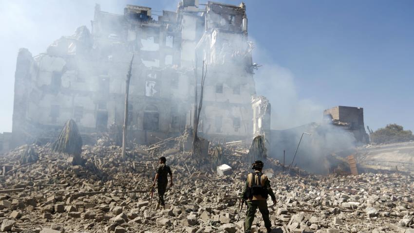 Коалицијата предводена од Саудиска Арабија нанесе удари врз бунтовничка база во Јемен