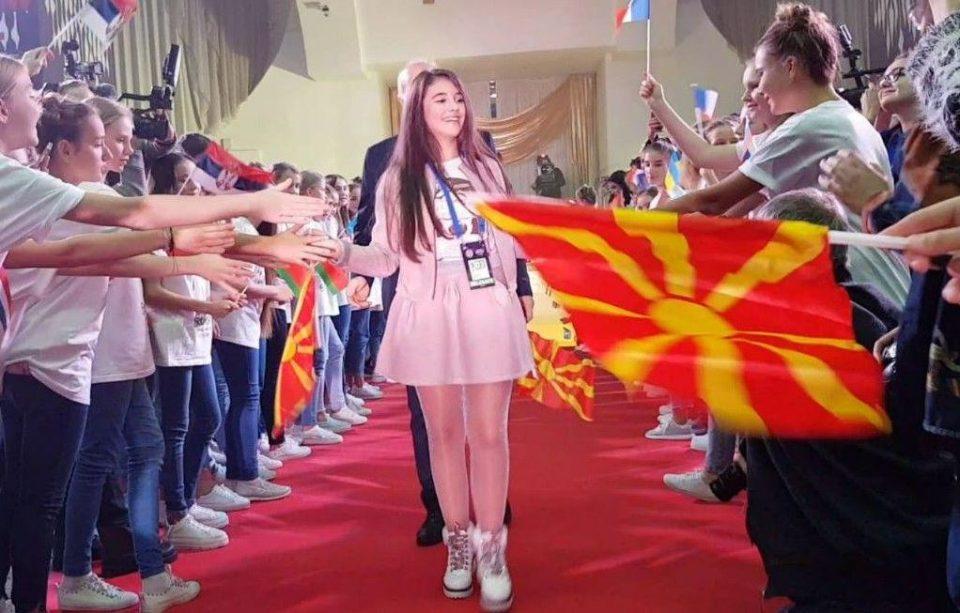 Пет дена до детската Евровизија 2018: Марија Спасовска пристигна во Минск