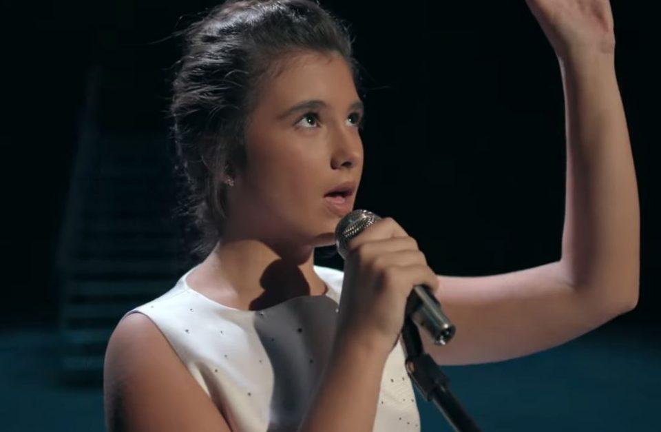 Да ја поддржиме нашата Марија која ќе пее на Јуниорскиот Евросонг- еве како може да гласа цела Македонија (ВИДЕО)