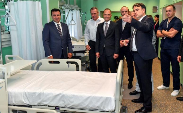 Филипче најавува медициска опрема за 2019, парите од ребалансот за 2018 за оваа намена ќе пропаднат