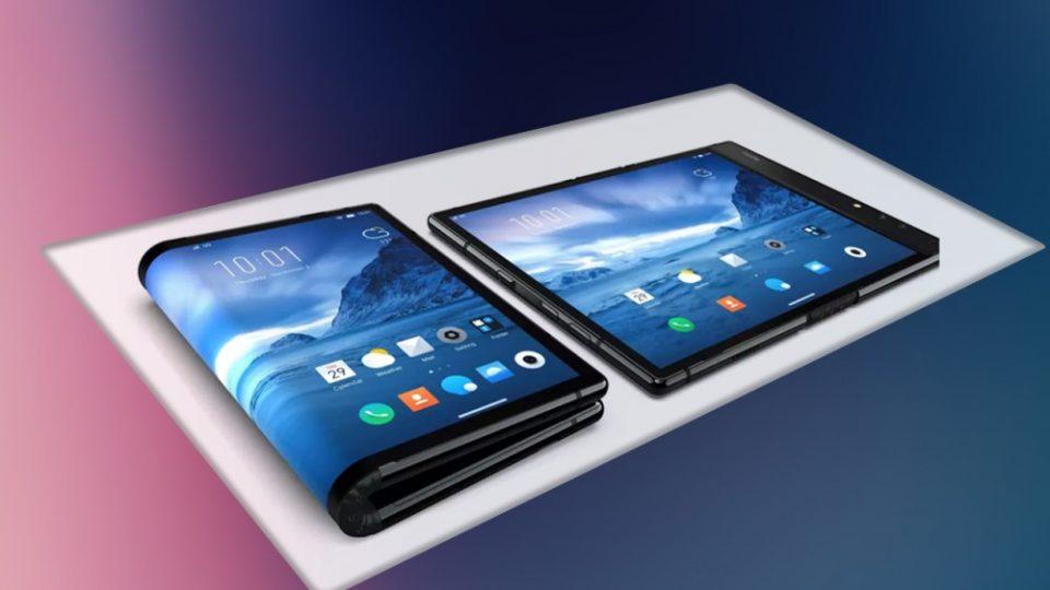 """Смартфонот со дисплеј на преклопување на """"Самсунг"""" во продажба од март"""
