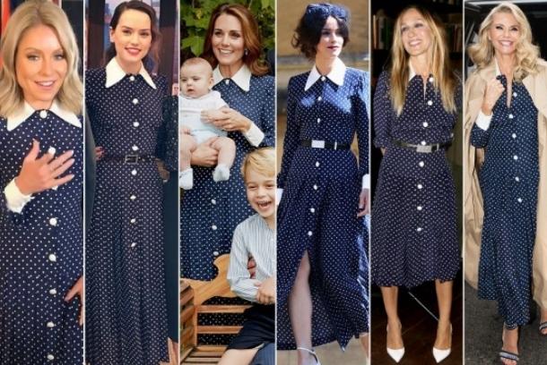 Фустанот по кој полудеа славните: Го носеа Лејди Ди и Кејт, а потоа и овие ѕвезди (ФОТО)