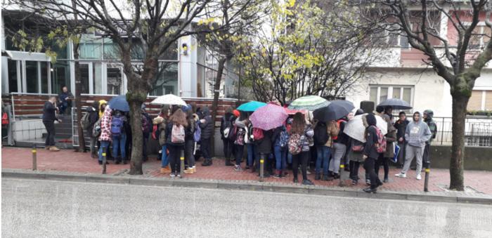 Основци протестираат против загадувањето во Тетово