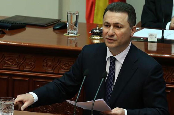 Груевски со нотарски акт ја достави оставката во Собранието, можно е во вторник да биде на седница