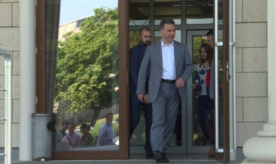 Унгарските власти потврдија дека го разгледуваат барањето за азил на Груевски