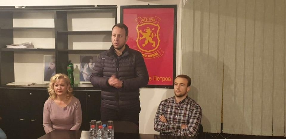 Јанушев во Ѓорче: Обединети, сплотени и со една иста цел, Македонија ќе победи