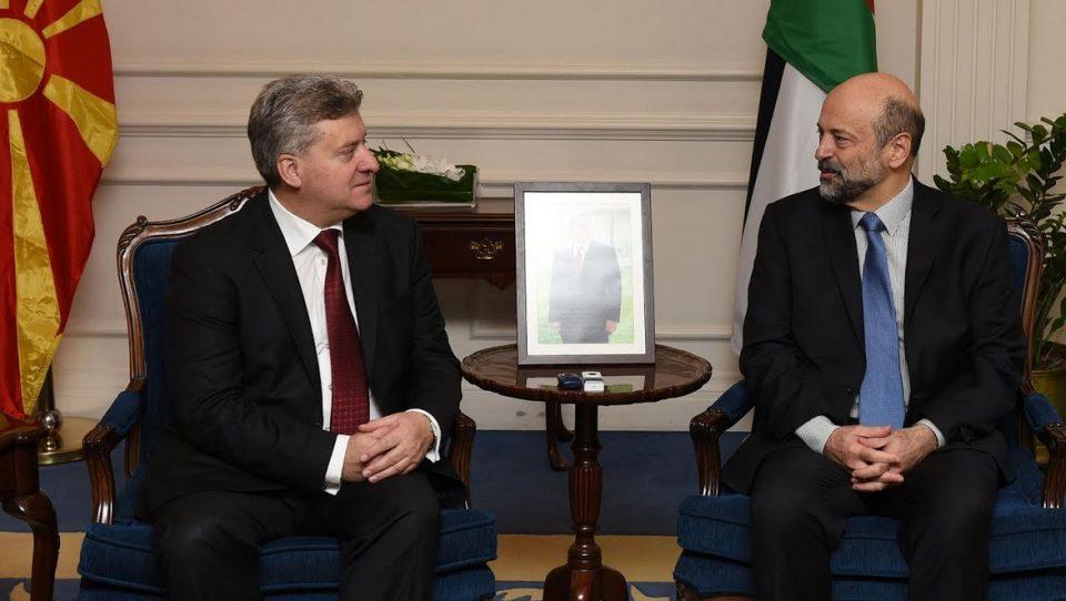 Сеопфатна и партнерска соработка меѓу Македонија и Јордан: Претседателот Иванов на средби со јорданскиот државен врв
