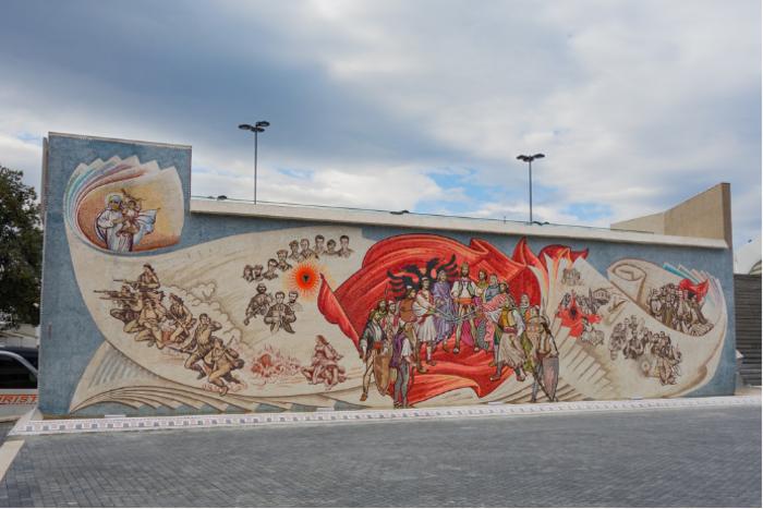 Мета во Скопје за денот на албанската азбука