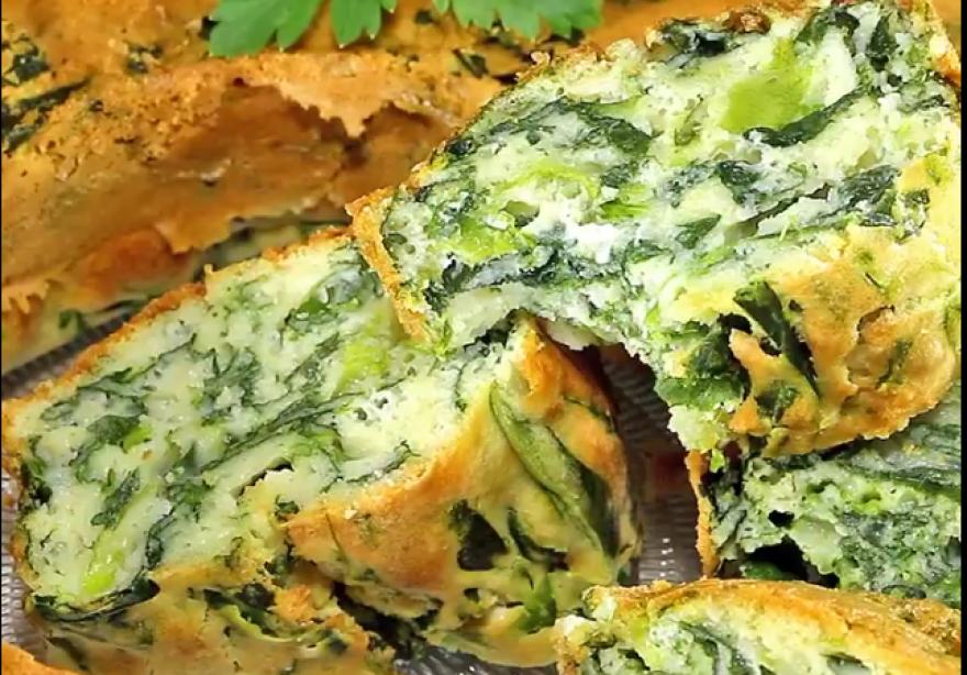 Видео рецепт: Солен колач со спанаќ и павлака